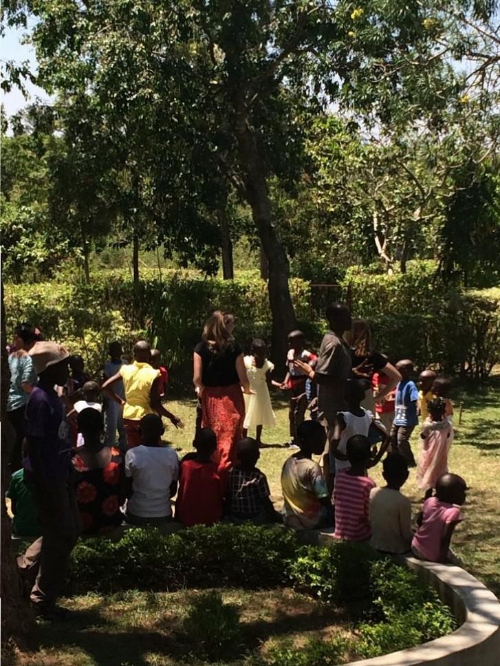 Rooftop view from Maseno University of Kisumu city center going away celebration in Simenya